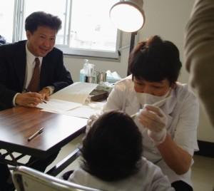 H23年よい歯の親子のコンクール選考会